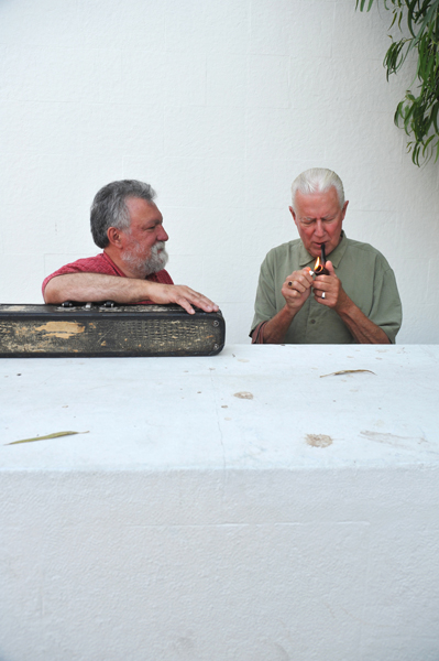 Evan Parker and Han Bennink - Lisbon