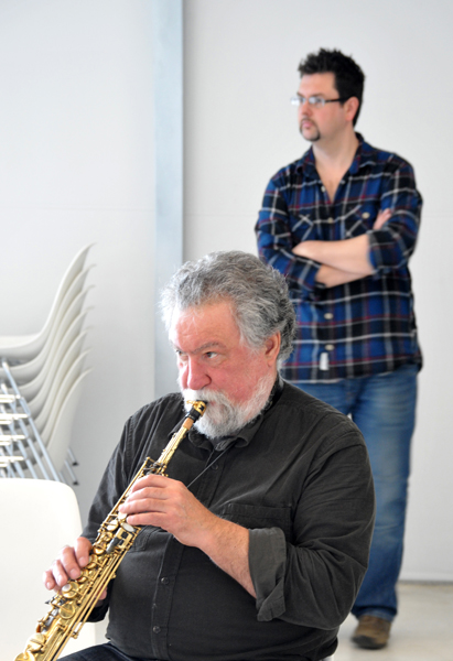 Evan Parker Matt Wright - Turner Contemporary, Margate