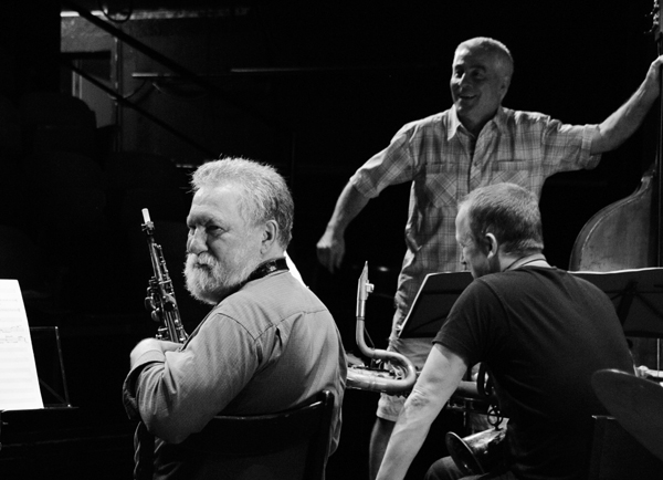 Evan Parker Barry Guy Mats Gustafsson - Wintertur, Switzerland