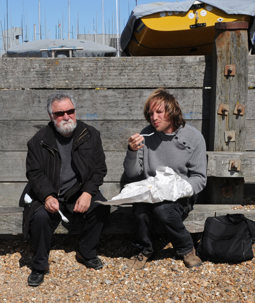 Evan Parker and Toma Gouband - Whitstable