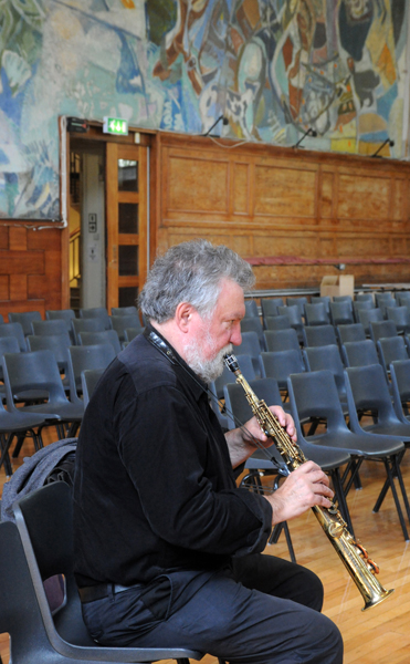 Evan Parker - Cecil Sharp House, London